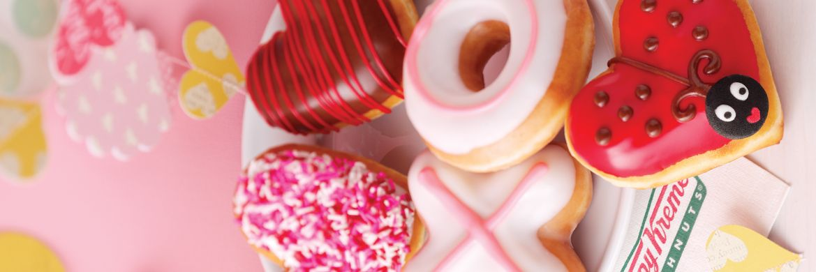 #Sharethelove with our Valentine's Doughnuts