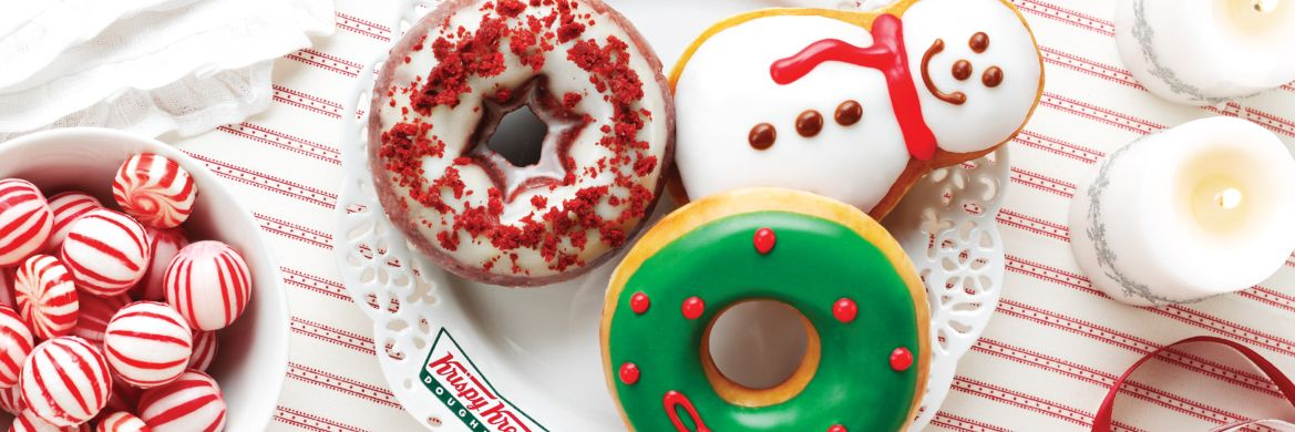 Holiday doughnuts are here!
