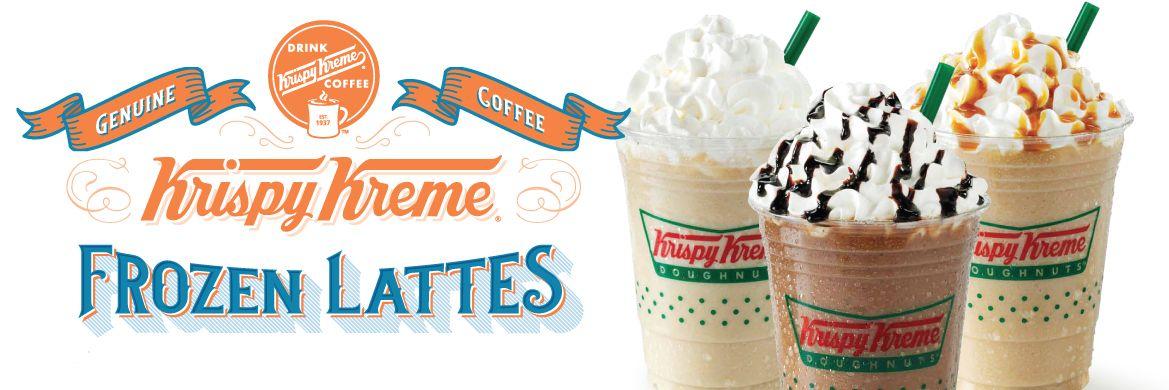 Krispy Kreme Canada Frozen Lattes