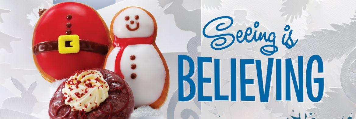 Krispy Kreme Canada Christmas Holiday Doughnuts