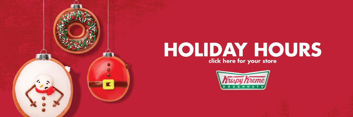 Krispy Kreme Canada Holiday Hours