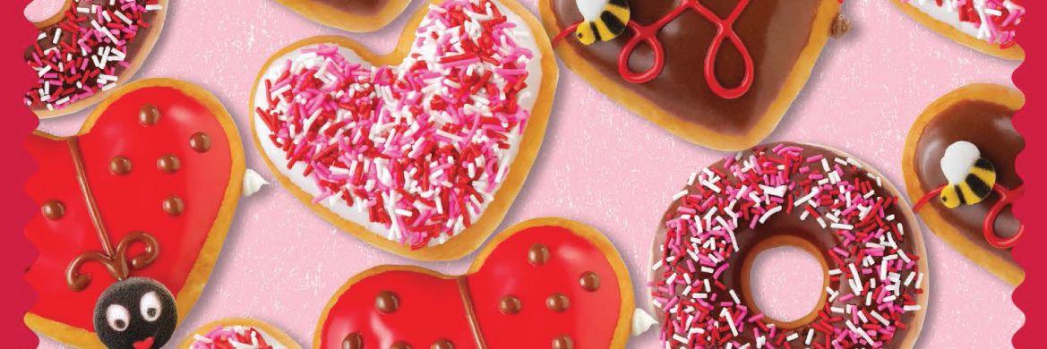 Valentine's Best Doughnuts Krispy Kreme Canada