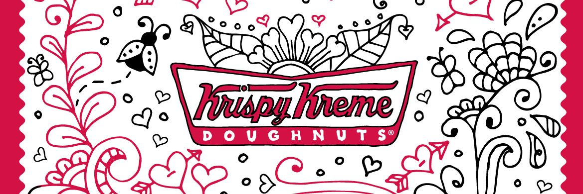Valentine's Day with Krispy Kreme Canada