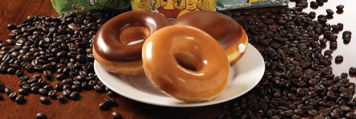 Doughnuts and Coffee Krispy Kreme Canada