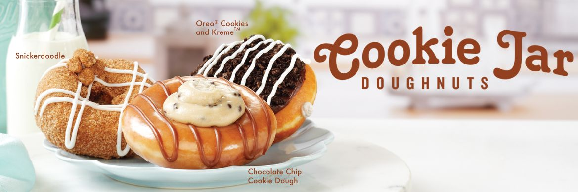 Cookie Jar Doughnuts at Krispy Kreme Canada