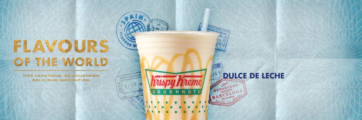 Dulce de Leche Chiller Krispy Kreme Canada